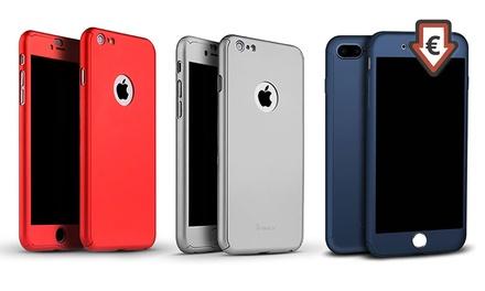 1 o 2 fundas completas con protector de pantalla para iPhone