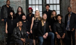 Tedeschi Trucks Band with Los Lobos & North Mississippi Allstars: Tedeschi Trucks Band - Wheels of Soul 2016 Summer Tour at Uptown Amphitheatre at NC Music Factory on July 24 at 6:30pm