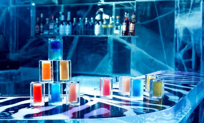 image for ICEBAR Experience and Cocktail in Warm Bar for Up to Six at ICEBAR London (Up to 29% Off)