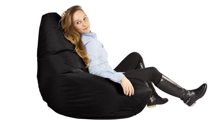 big bertha high bean sitzsack groupon. Black Bedroom Furniture Sets. Home Design Ideas