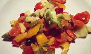 Ristorante Veganfruttariano: Cena biologica fruttariana con dolce per 2 o 4 persone al Ristorante Veganfruttariano (sconto fino a 55%)