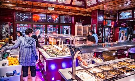 Buffet libre para 2 personas con entrante, principal y postre en Restaurante China Town Yumbo (16% de descuento)