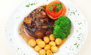 Argentinian Cuisine for Dinner or Lunch at Puerto La Boca (45% Off)