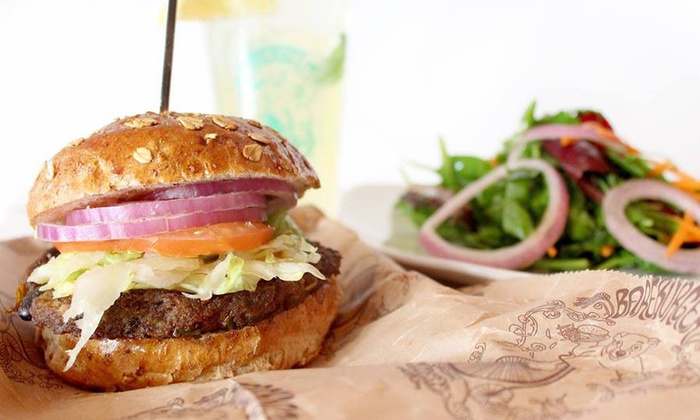 Bareburger - William Street Location: Organic Burgers at Bareburger (Up to 50% Off). Two Options Available