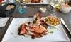 Menu homard en 5 services
