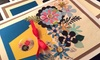 Artsy Smartsy Art Classes - Multiple Locations: Silk-Scarf Painting or Card- or Wreath-Making Class for 1, 2, or 4 at Artsy Smartsy Art Classes (Up to 52% Off)