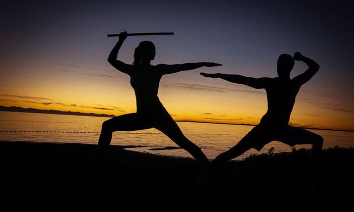 Yoga Dojo - Yoga Dojo: 10 Classes or One Month of Unlimited Yoga Fusion at Yoga Dojo (Up to 79% Off)