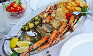 Raymons Bar & Restaurant: 3-Gänge-Fisch-Menü inkl. Meeresfrüchteplatte für Zwei oder Vier im Raymons Bar & Restaurant (bis zu 37% sparen*)