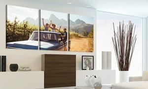 Photo Gifts: 3 toiles classiques à personnaliser, tailles au choix, avec Photo Gifts dès 22,90 € (jusqu'à 86% de réduction)