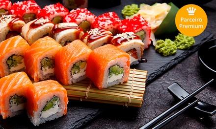 Rodízio japonês para 1 ou 2 pessoas (opção com petit gâteau) no Harumi Sushi – Lapa