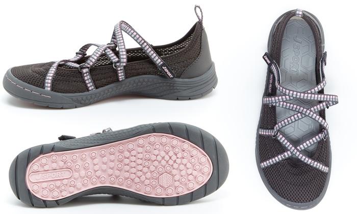 7a905c65f7a8 J-Sport by Jambu Sideline Women s Slip On Shoes (Size 8)