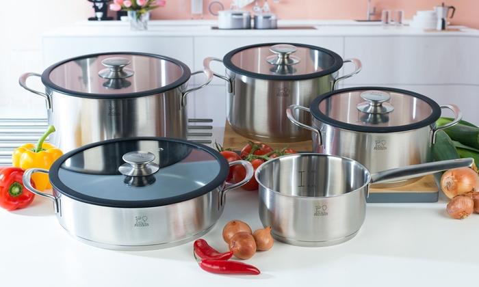 Peugeot Stainless Steel Saucepans | Groupon Goods