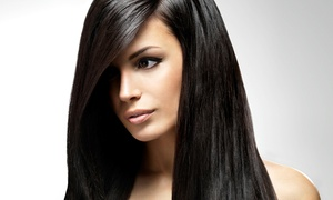 Adi Perry: Haircut, Conditioning, Blow-Dry, and Style with Optional Partial or Full Highlights at Adi Perry (Up to 67% Off)