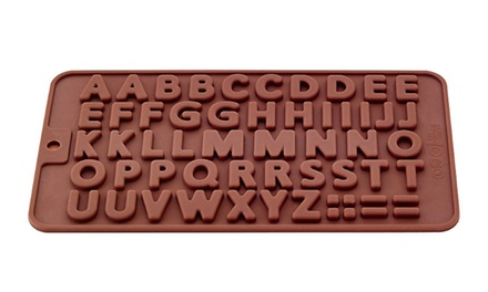 Alphabet Letters Silicone Mould