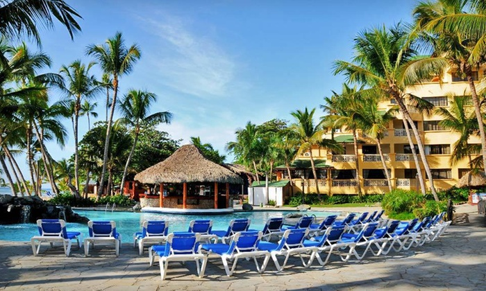Coral Costa Caribe: Three-, Four-, Five-, or Seven-Night All-Inclusive Stay at Coral Costa Caribe in the Dominican Republic