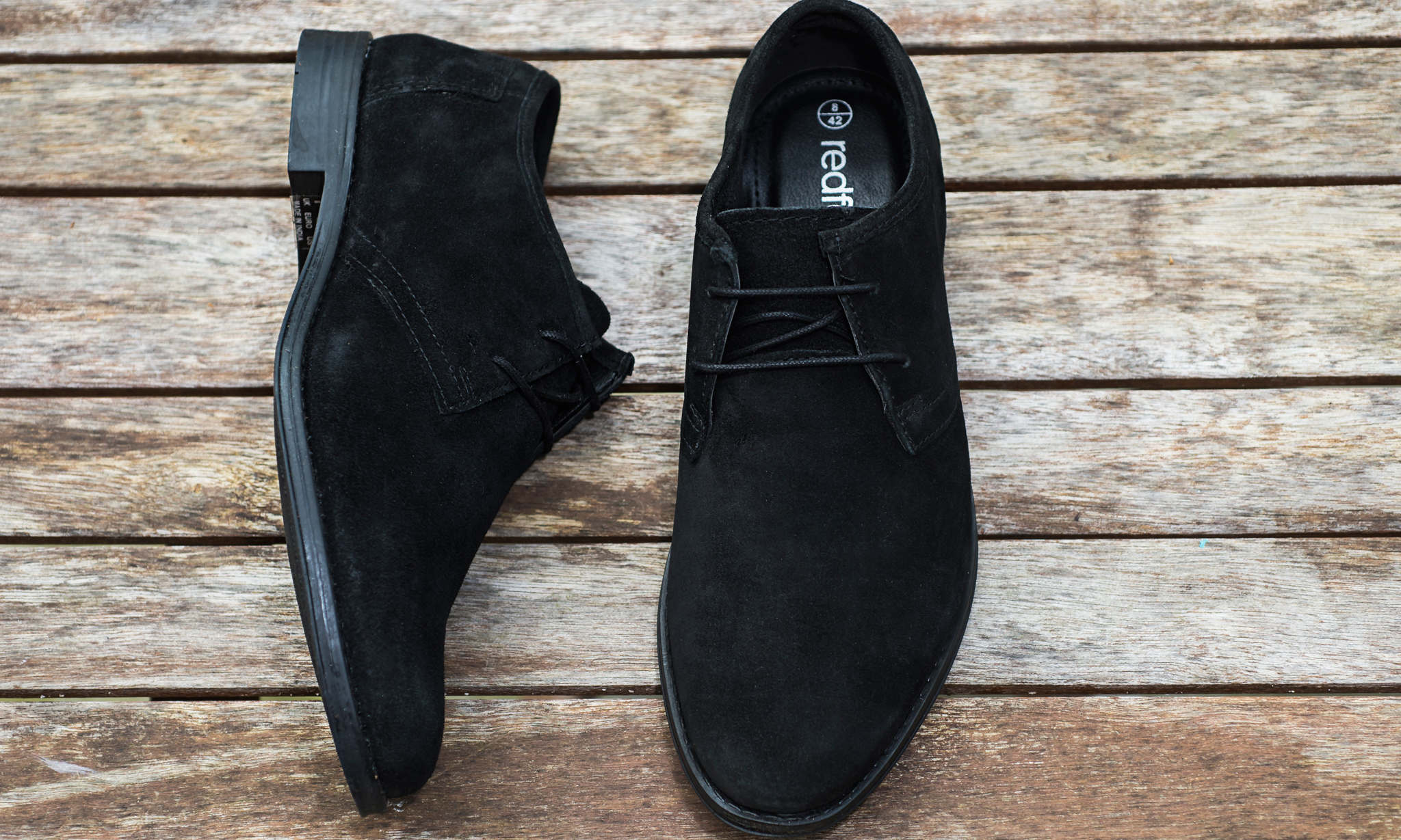 Men's Redfoot Suede Desert Shoes From £19.99