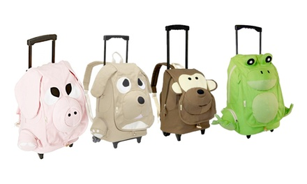EcoGear Ecozoo Kids Rolling Backpacks