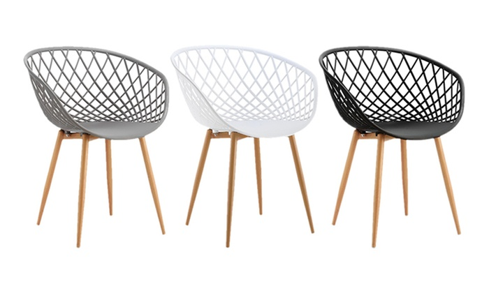 Jusqu 39 44 lot de chaises scandinaves margo groupon - Lot de 6 chaises scandinaves ...