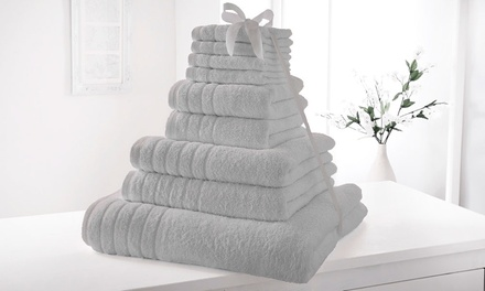 9 Piece 500gsm Egyptian Cotton Towel Bale