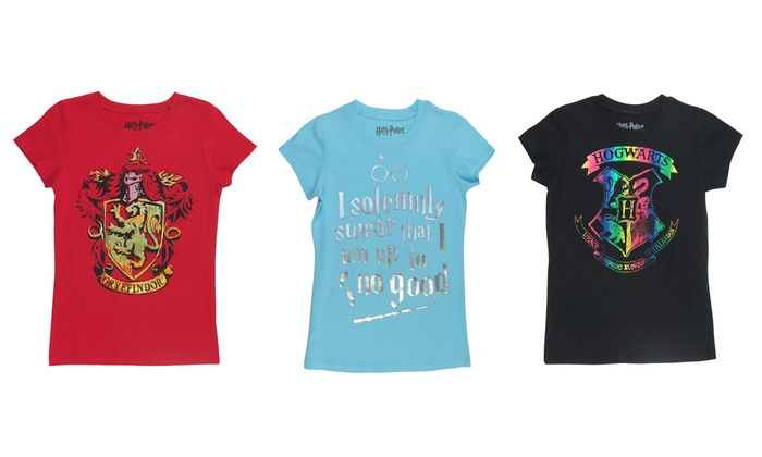 8e1a1e32 Girls' Harry Potter Foil-Screen T-Shirts | Groupon