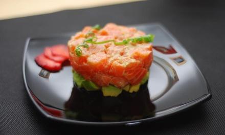 Menú degustación japonesa para 2 o 4 personas con 6 platos y bebida desde 24,95 € en Sushi & Wine