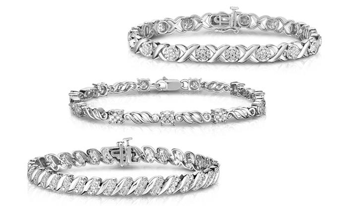 1 4 CTTW Diamond Bracelet