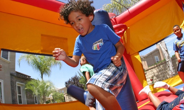 Image result for bounce house kids