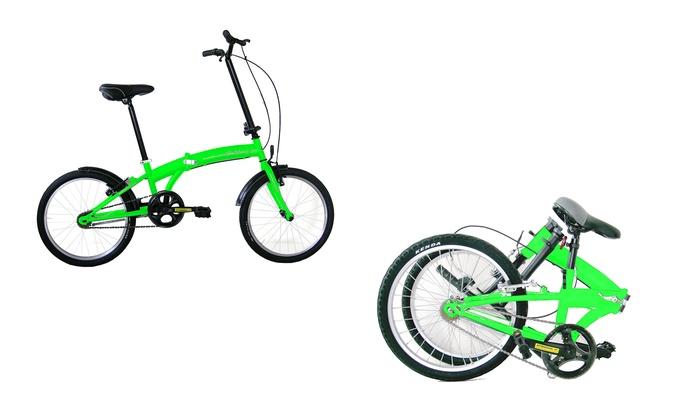 Bicicletta Pieghevole Unisex Flli Masciaghi Con Telaio In Acciaio E Cerchi Da 20