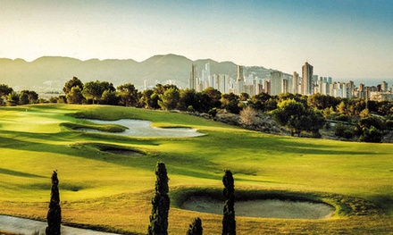 Green fee de 18 hoyos para 2 personas en Villaitana Golf (hasta 49% de descuento)