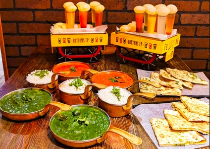 Indian Food at Nirmanz Food Boutique (up to 40% Off). Five Options Available.