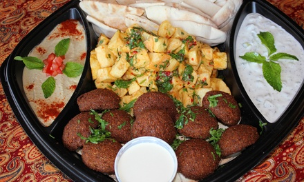 $15 for $30 Worth of Mediterranean Cuisine at Sesame Moe's