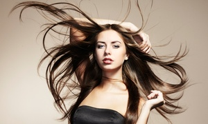 Iris Salon: Keratin or Japanese Hair-Straightening Treatment at Iris Salon (Up to 50% Off)