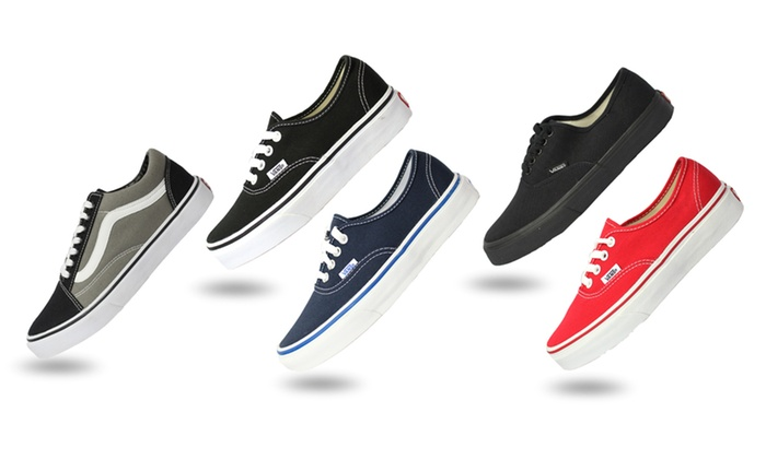 Groupon Goods: From $39 for a Pair of VANS Shoes in Choice of Style and Colour (Don't Pay Up to $119.95)