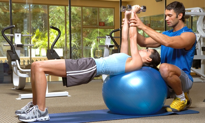 Quad Cities Fitness - Multiple Locations: Two or Five Personal-Training Sessions at Quad Cities Fitness (Up to 92% Off)
