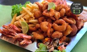 Restaurante Miramar: Miramar - Biguaçu: Camarão à São Miguel para 2 ou 4 pessoas + acompanhamentos