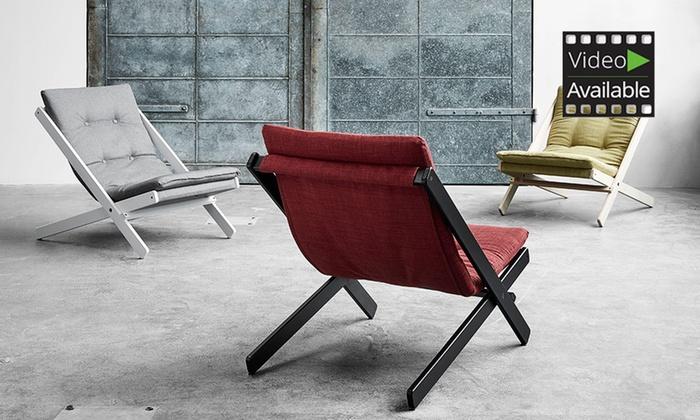 Groupon Goods Global GmbH: Boogie Stuhl in der Farbe nach Wahl (50% sparen*)
