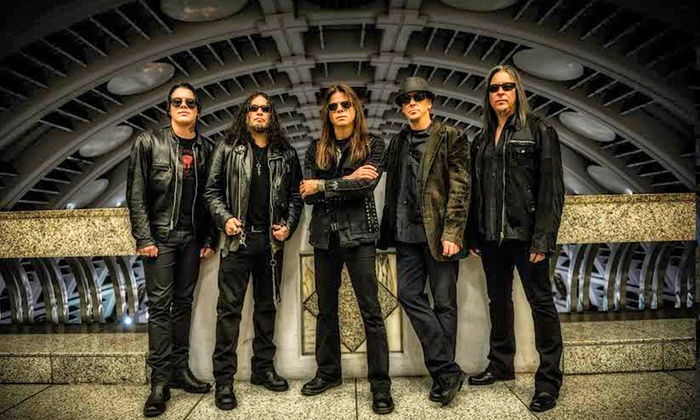 Hard Rock Invasion 2015 - Jefferson Barracks Veterans Memorial Amphitheater: Hard Rock Invasion 2015 Featuring Queensrÿche and Cinderella's Tom Keifer on Saturday, June 20 (Up to 45% Off)
