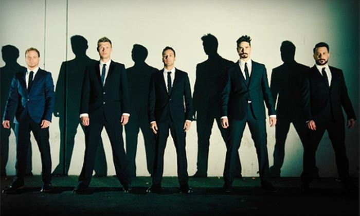 Backstreet Boys - PNC Music Pavilion: Backstreet Boys Concert at Verizon Wireless Amphitheatre Charlotte on August 21 at 7 pm. (Up to 65% Off)