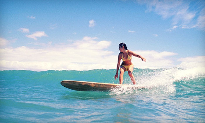 Triple X Surf and Skim - Jacksonville: One or Three Surfing Lessons or One Lesson with a Pro Surfer at Triple X Surf and Skim (Up to 56% Off)