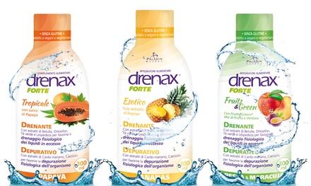 Fino a 6 drenanti Drenax Forte da 300 ml, disponibile in 4 gusti