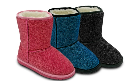 DAWGS Baby/Kids' Glitter Boot. Multiple Colors Available.
