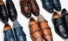 Vincent Cavallo Cap-Toe and Wingtip Dress Shoes with Free Dress Socks