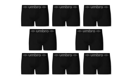 Set van 8 naadloze herenboxers van Umbro