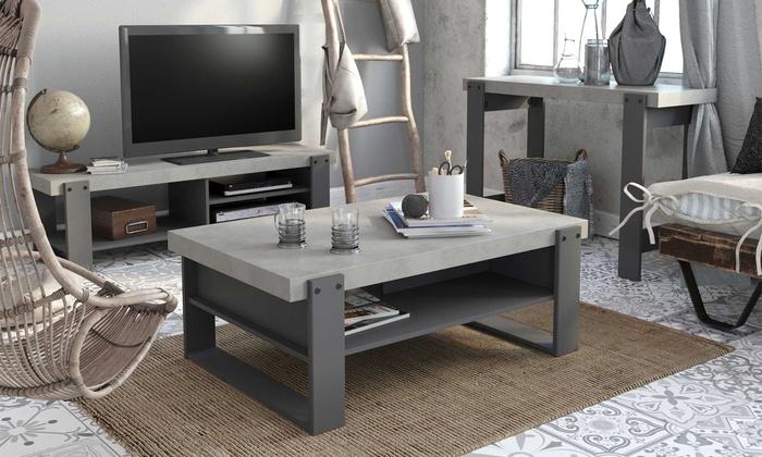 Jusqu à console ou meuble tv parisot groupon
