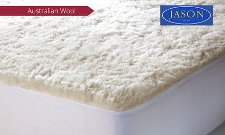 Jason Australian Wool Underlay - Regular from $59, or Reversible from $69 (Don't Pay up to $269.95)