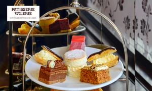 Patisserie Valerie: Afternoon Tea with Optional Prosecco for Two at Patisserie Valerie (Up to 24% Off)