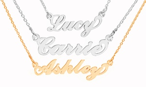 Carrie-Style Custom Name Necklace (1- or 2-Pack) at Carrie-Style Custom Name Necklace (1- or 2-Pack), plus 6.0% Cash Back from Ebates.