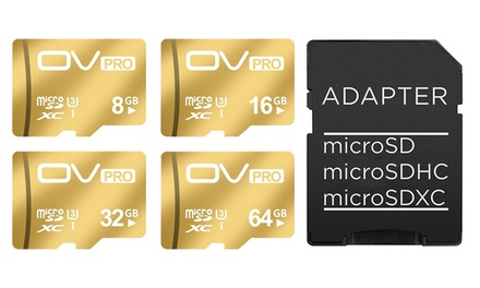 Aquarius Gold-Coloured Micro SD Card