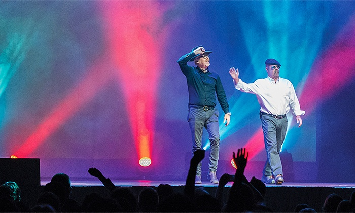 """MythBusters Jamie & Adam UNLEASHED - Queen Elizabeth Theatre: """"MythBusters: Jamie and Adam UNLEASHED"""" at Queen Elizabeth Theatre on December 15 at 7:30 p.m. (Up to 30% Off)"""