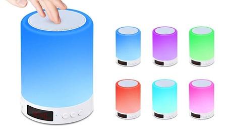 Altavoz Bluetooth con lámpara LED